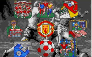 Pantallazo de Manchester United - The Official Computer Game para Atari ST