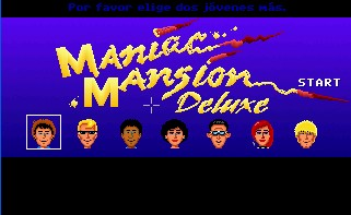 Pantallazo de Maniac Mansion Deluxe para PC