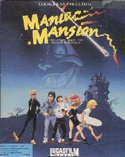 Caratula de Maniac Mansion para PC