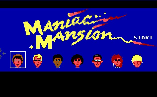 Pantallazo de Maniac Mansion para PC