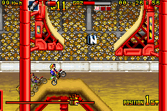 Pantallazo de Maniac Racer Advance para Game Boy Advance