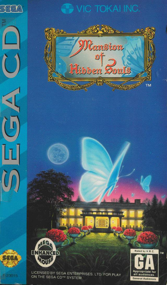 Caratula de Mansion of Hidden Souls para Sega CD