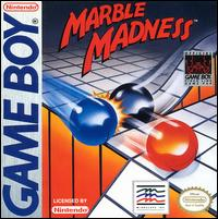 Caratula de Marble Madness para Game Boy