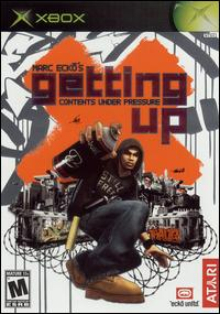 Caratula de Marc Ecko's Getting Up: Contents Under Pressure para Xbox