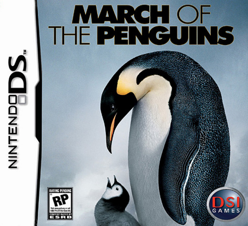 Caratula de March of the Penguins, The para Nintendo DS