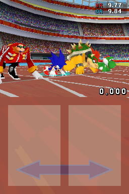 Pantallazo de Mario & Sonic at the Olympic Games para Nintendo DS