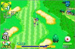 Pantallazo de Mario Golf: Advance Tour para Game Boy Advance