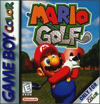 Caratula de Mario Golf para Game Boy Color