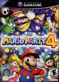 Caratula de Mario Party 4 para GameCube