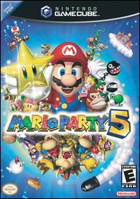 Caratula de Mario Party 5 para GameCube