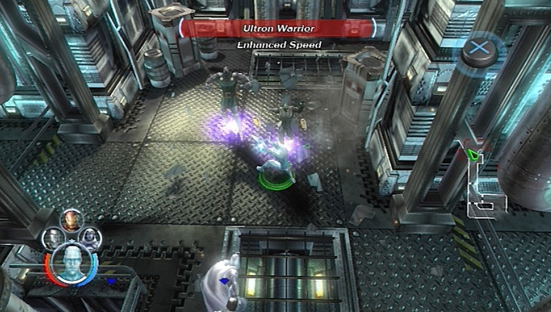 Pantallazo de Marvel: Ultimate Alliance para PlayStation 3