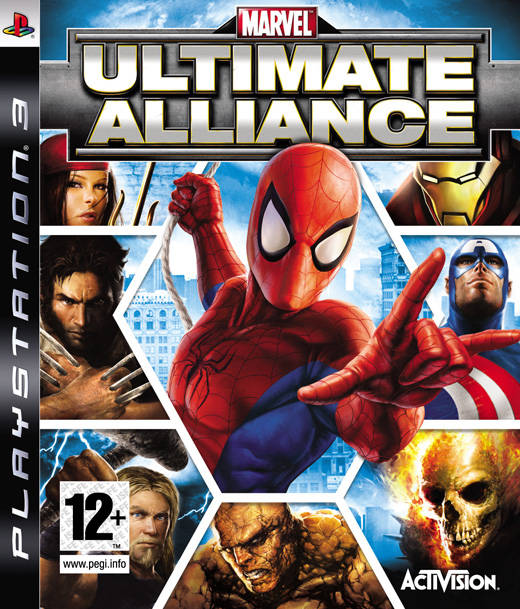 Caratula de Marvel: Ultimate Alliance para PlayStation 3