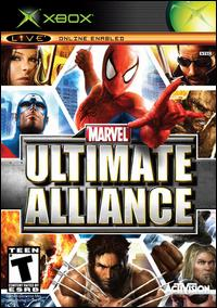 Caratula de Marvel: Ultimate Alliance para Xbox