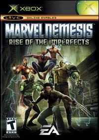 Caratula de Marvel Nemesis: Rise of the Imperfects para Xbox