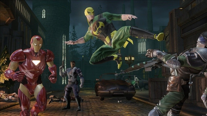 Pantallazo de Marvel Ultimate Alliance 2 para Xbox 360