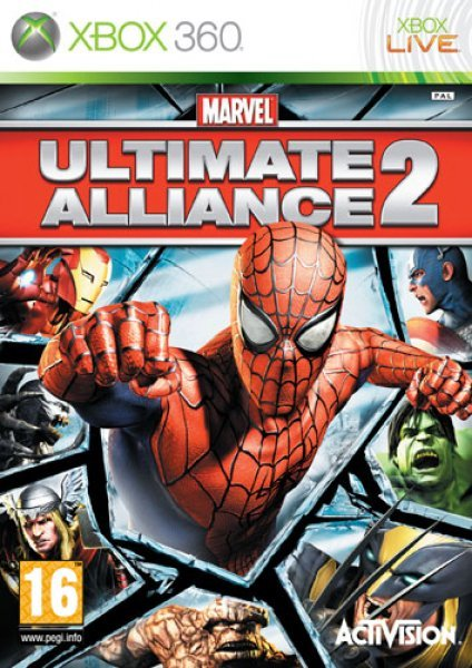 Caratula de Marvel Ultimate Alliance 2 para Xbox 360