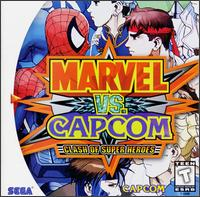 Caratula de Marvel vs. Capcom: Clash of Super Heroes para Dreamcast