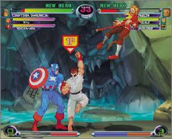 Pantallazo de Marvel vs. Capcom 2 para Dreamcast