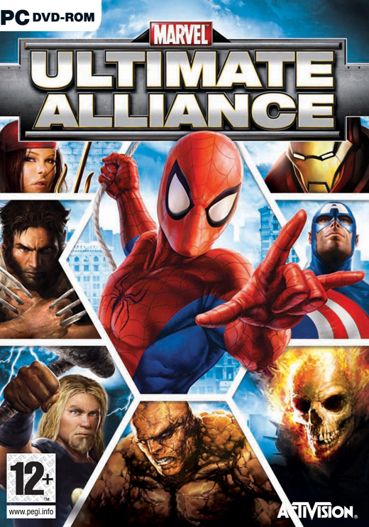 MARVEL Ultimate Alliance PC compress?� 5Go ?� 900Mo MU