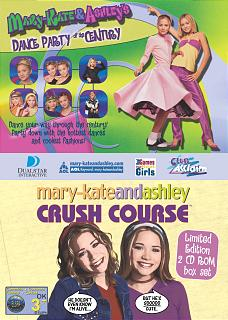 Caratula de Mary Kate and Ashley: Dance Party of the Century and Crush Course Double Pack para PC
