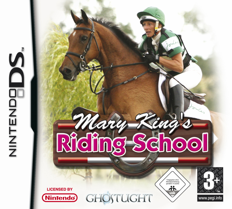 Caratula de Mary King's: Riding School para Nintendo DS