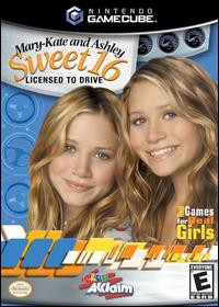 Caratula de Mary-Kate and Ashley: Sweet 16 -- Licensed to Drive para GameCube