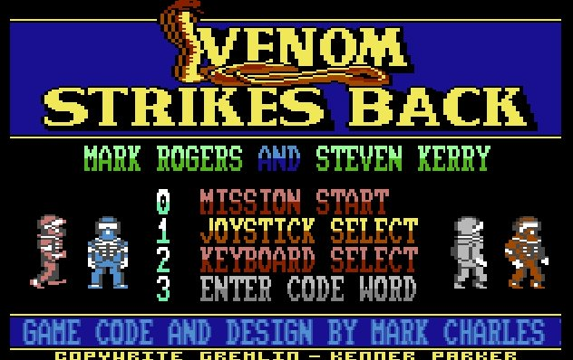 Pantallazo de Mask III: Venom Strikes Back para Commodore 64