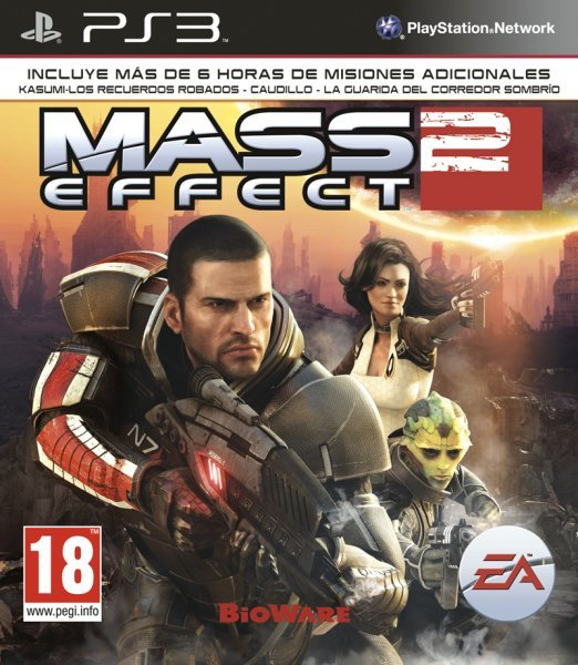 Caratula de Mass Effect 2 para PlayStation 3