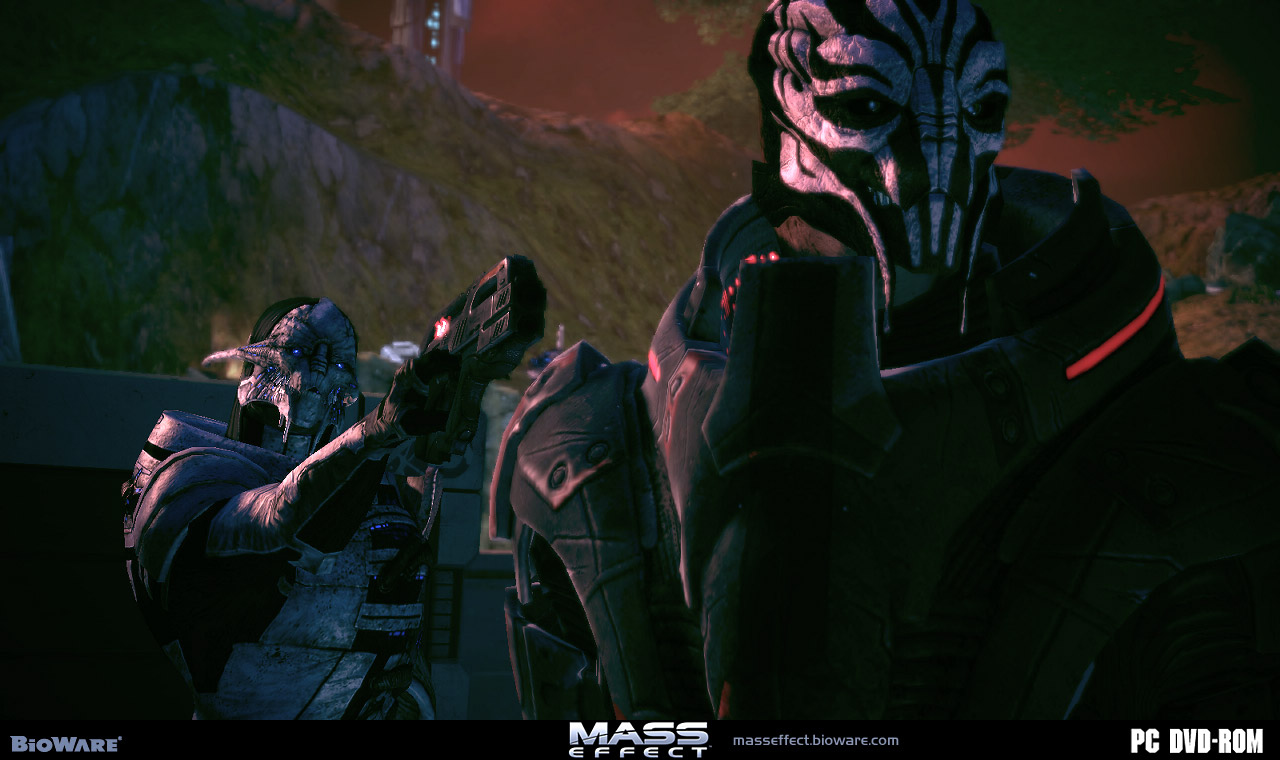 Pantallazo de Mass Effect para PC