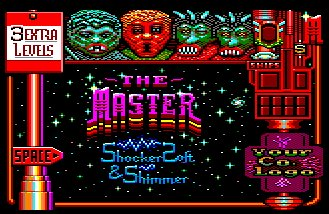 Pantallazo de Masters Of Space: The X-Levels para Amstrad CPC