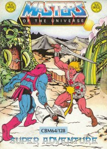 Caratula de Masters of the Universe - Super Adventure para Commodore 64