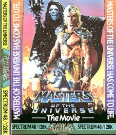 Caratula de Masters of the Universe - The Movie para Spectrum