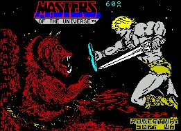 Pantallazo de Masters of the Universe - The Super Adventure para Spectrum