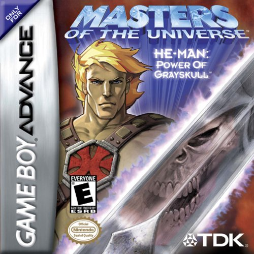 Caratula de Masters of the Universe Interactive -- He-Man: Power of Grayskull para Game Boy Advance