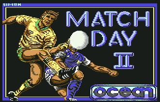 Pantallazo de Match Day II para Commodore 64
