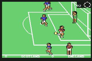 Pantallazo de Match Day para Commodore 64