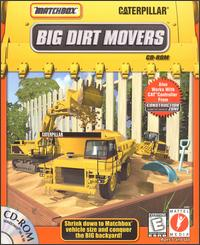 Caratula de Matchbox Caterpillar Big Dirt Movers para PC