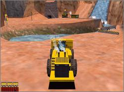 Pantallazo de Matchbox Caterpillar Construction Zone 2 para PC