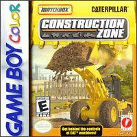 Caratula de Matchbox Caterpillar Construction Zone para Game Boy Color