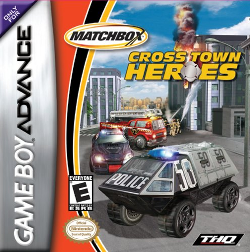 Caratula de Matchbox Cross Town Heroes para Game Boy Advance