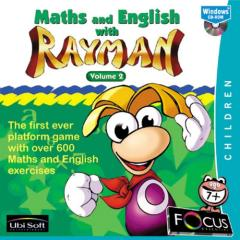 Caratula de Maths And English With Rayman: Volume 2 para PC