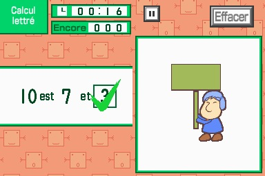 Pantallazo de Maths Training para Nintendo DS