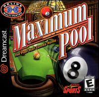 Caratula de Maximum Pool para Dreamcast