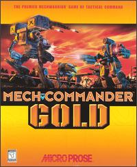 Caratula de MechCommander Gold para PC