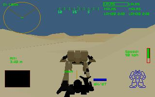 Pantallazo de MechWarrior 2: Battle Pack para PC
