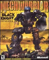 Caratula de MechWarrior 4: Black Knight Expansion para PC