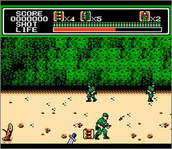 Pantallazo de MechaNized Attack para Nintendo (NES)
