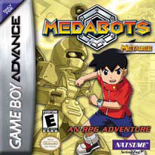 Caratula de Medabots: Metabee Gold para Game Boy Advance