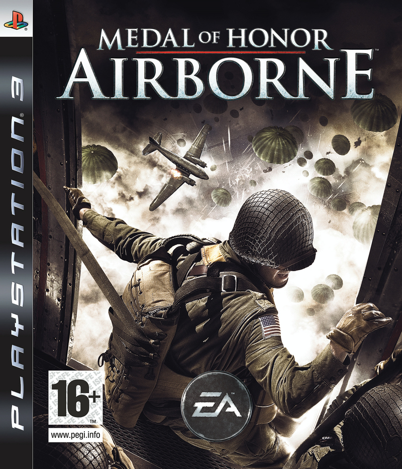Caratula de Medal of Honor: Airborne para PlayStation 3