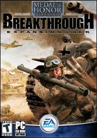 Caratula de Medal of Honor: Allied Assault -- Breakthrough Expansion Pack para PC
